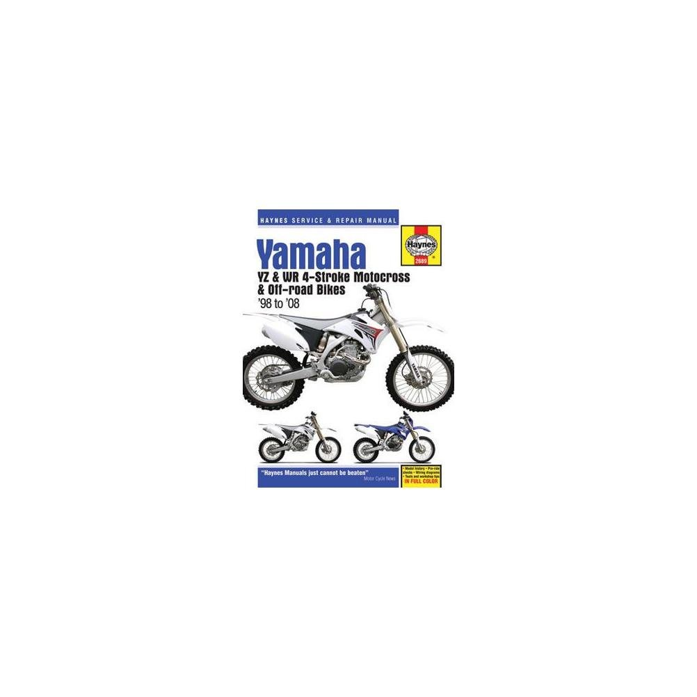 01 08 Yamaha Yz250f Haynes Repair Manual Automotive Wr250r Wiring Diagram