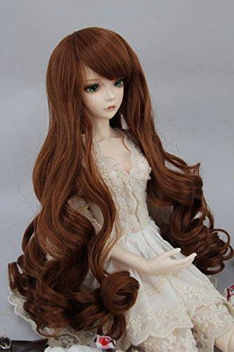 Kuafu 9-10 Inch (22-24cm) 1/3 BJD/SD Doll Wig Cute Long Curly Hair