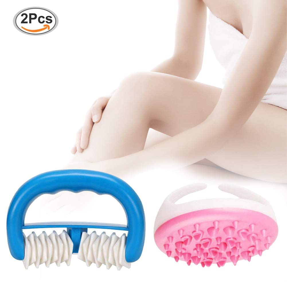 Anti Cellulite Rolle, Anti Cellulite Massagegerät Rolle, Anti-cellulite Massag, Das Anti Cellulite Massage Gerät gegen Orangenhaut, Das Power-Set gegen Cellulite:Der Massageroller My Body Shaper, Entfernen Toxine (Anti Cellulite Cup+Massage roller) PTKOONN