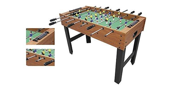 XTURNOS Futbolín de Madera 121x61x80 cm.: Amazon.es: Juguetes y juegos