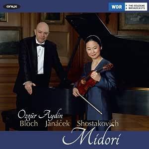 Violin Sonatas by Bloch, Janacek & Shostakovich