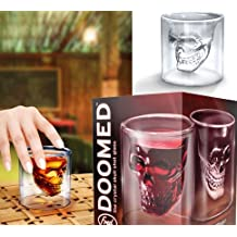 Skull Skull Cup of Beer of the Crystal Skull Cup Double Cocktail Glass of Red Wine Decorative Glass of Whisky