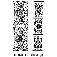 HDS31 ARTEBELLA HOME DESINGN STENCIL 35x50 CM