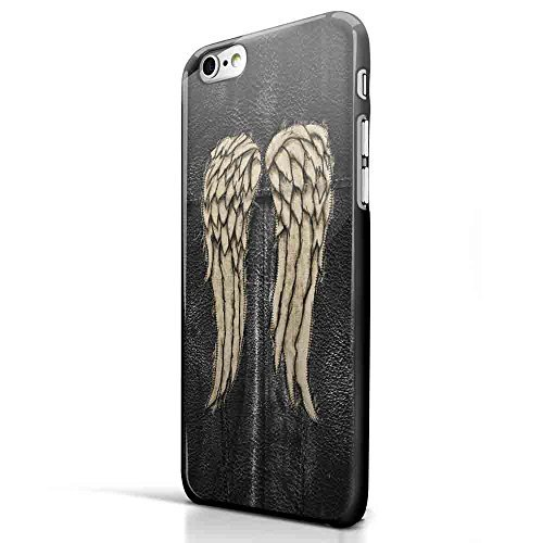 Daryl Dixon Wings the Walking Dead for Iphone and Samsung Galaxy Case (iPhone 6 plus Black)