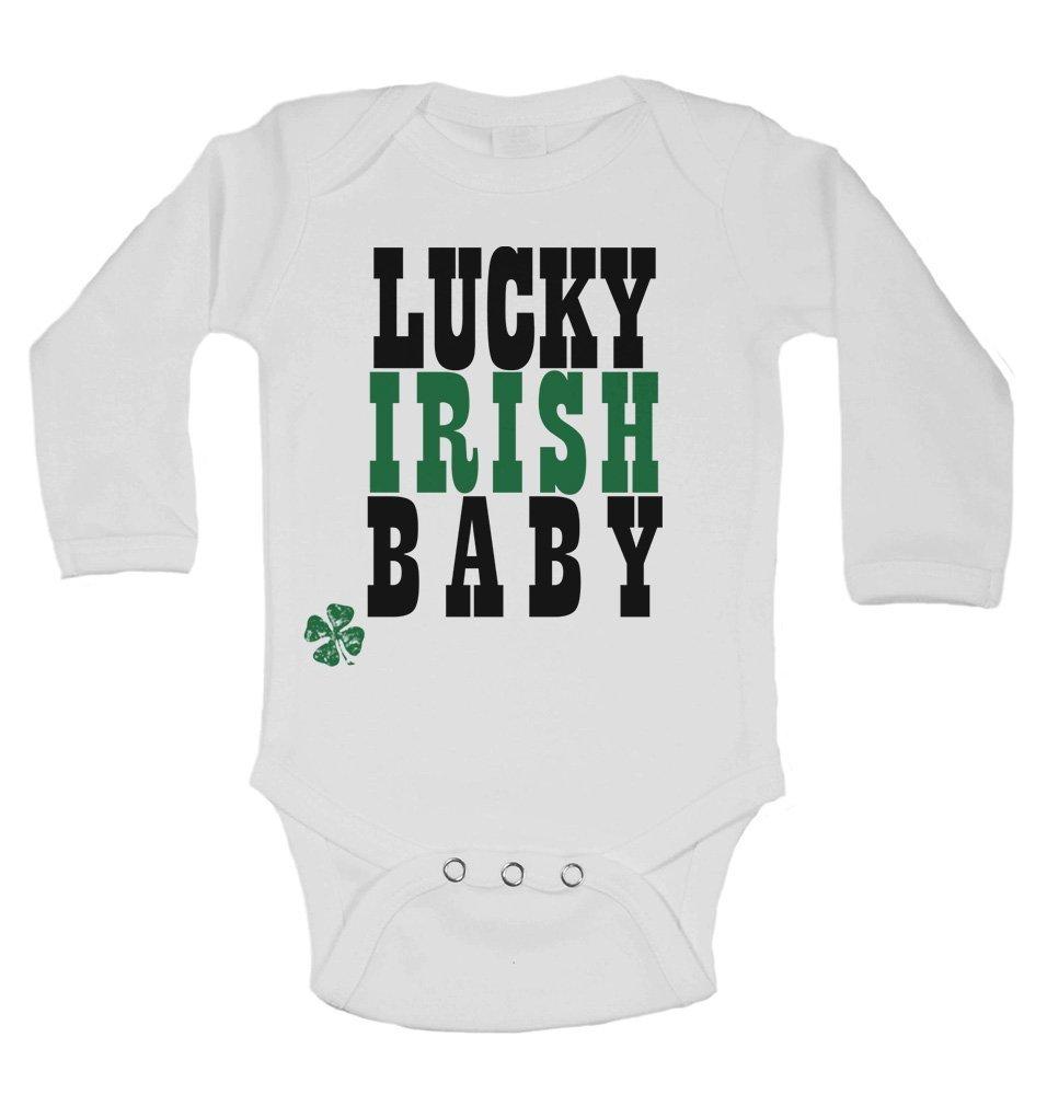 Chaleco de manga larga para bebé, diseño de bebé irlandés de ...