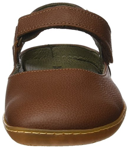 El Naturalista N5270 Soft Grain Viajero Sandali Closed-toe Donna Marrone wood Brown