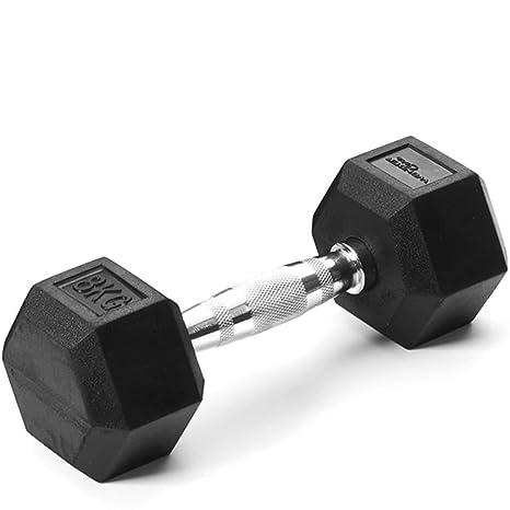 Wonder Core Mancuerna Hex 8kg Pesa Gimnasio Entrenamiento Muscular ...