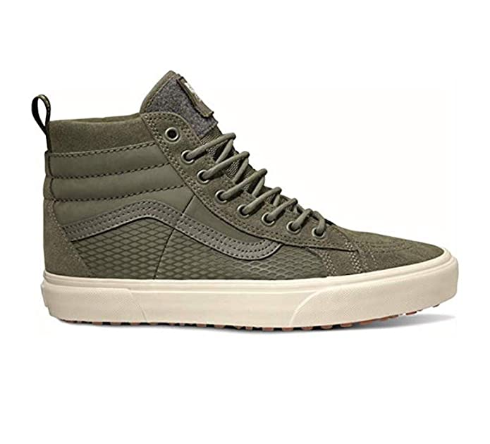 Vans Sk8-Hi High Top Sneaker Damen Herren Kinder Unisex Grün (Verde)