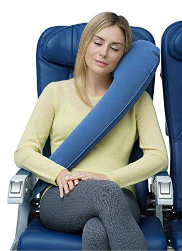 Travelrest - Ultimate Travel Pillow - Ergonomic - Lean Into It To Sleep -...