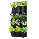 """Vertical Wall Garden Planter   15 Pockets   W 20"""" x L 37"""""""