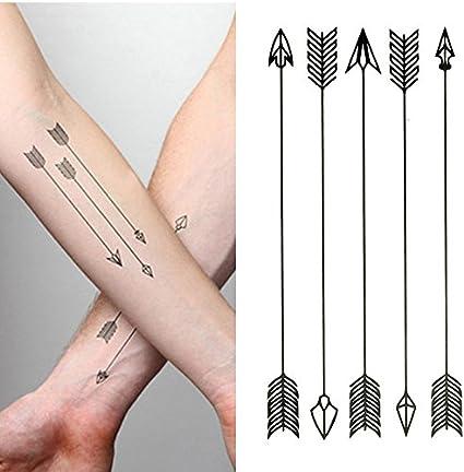 Oottati Tatuajes Temporales Flecha Brazo (Juego De 2): Amazon.es ...