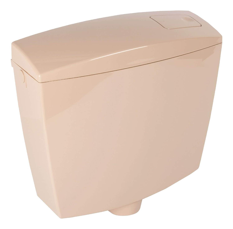 Aufputz-Sp/ülkasten mit Start-Stopp-Taste in Beige f/ür die Toiletten-Sp/ülung Calmwaters 29HB2719 Honorat