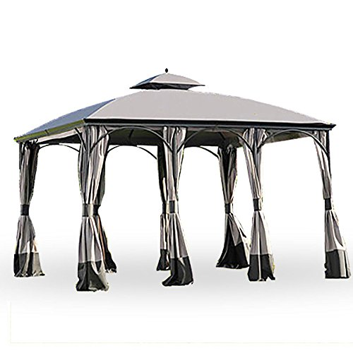 Garden Winds Replacement Canopy For The Big Lots Somerset Gazebo   350