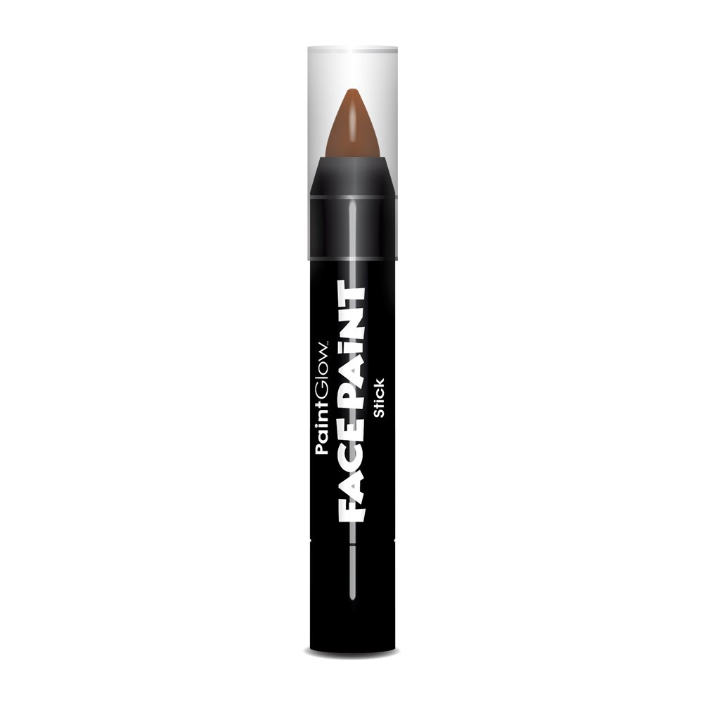 PaintGlow, Face Paint Stick, Light Grey, 3.5g, Loose 16