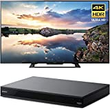 """Sony KD70X690E 70"""" 4K HDR X-Reality PRO Ultra HD TV with Motionflow XR 3840x2160 & Sony UBPX800 4K HDR UHD Blu-Ray Player with Dolby Atmos 3D"""