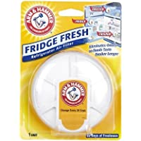 Arm & Hammer Fridge Fresh Refrigerator Air Filter-4.3 oz (Quantity of 5)