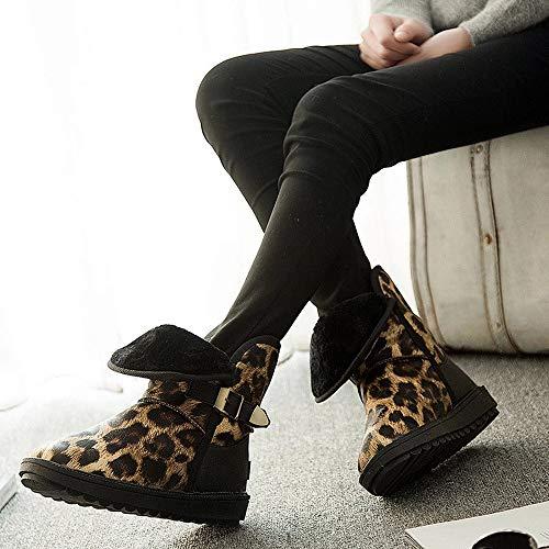 f4fb0e3a35625d De En Jaune chaussure Les Au Chaud Kaiki Neige Femme boots Imprimé Hiver  Bottes Pour FemmeHiverGarder ...