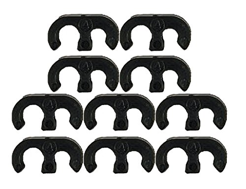 Husqvarna Poulan Weedeater Craftsman Trimmer (10 Pack) Replacement Retainer Clip # (Weedeater Clip)