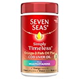 Seven Seas Omega-3 Fish Oil Plus Cod Liver Oil Plus Multivitamin 90 Capsules