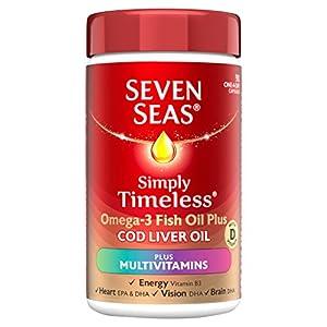 Seven Seas Omega 3 Fish Oil Plus Cod Liver Oil Plus