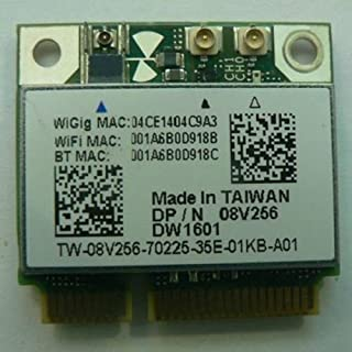 Dell Wireless Dw1601 Qca9005 8v256 Wigig 802.11ad 7gbps Half Mini Wireless Card (B00K0DHWRG) | Amazon price tracker / tracking, Amazon price history charts, Amazon price watches, Amazon price drop alerts