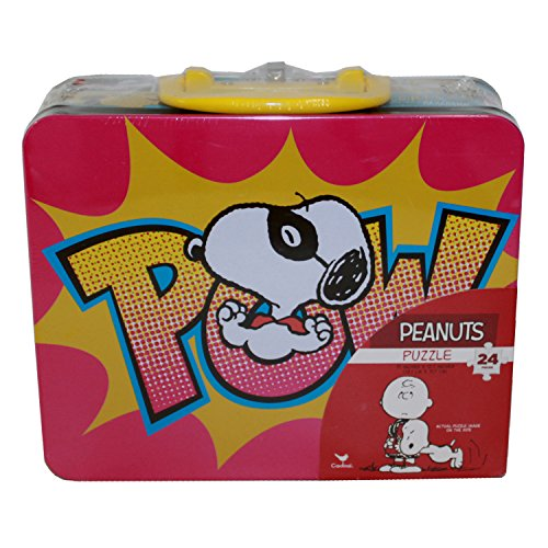 Snoopy Character Lunch Box with Puzzle