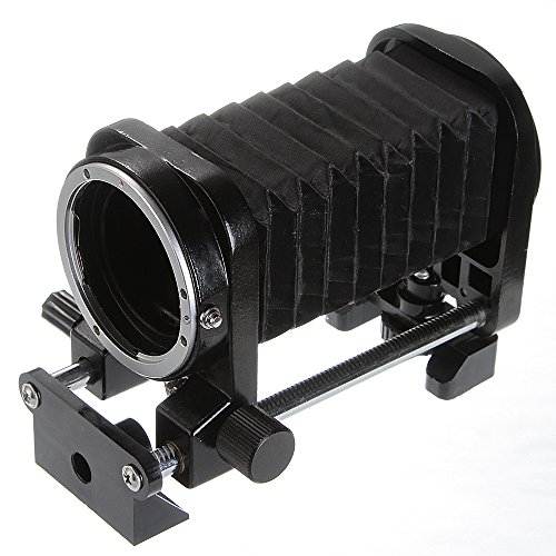 Nikon Bellows - Fotga Macro Lens Bellows for Nikon D700 D300 D200 D100 D5000 D90 D80 D70 D70s D60 D50 D40 DSLR SLR