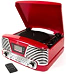 GPO Memphis Turntable 4-in-1 Music Ce...