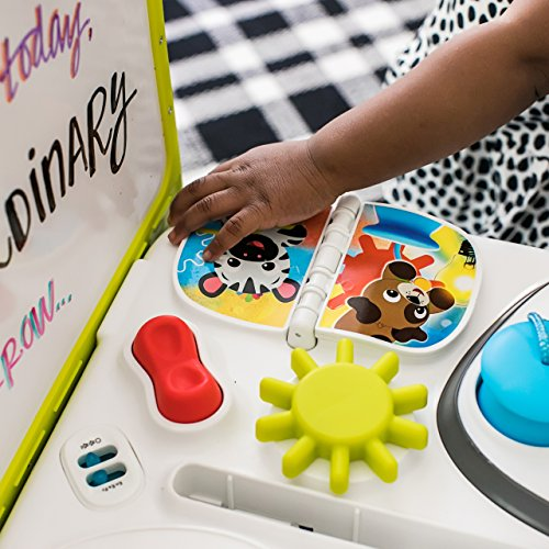 515vAjaDwAL - Baby Einstein Curiosity Table Activity Station Table Toddler Toy with Lights and Melodies, Ages 12 months and up
