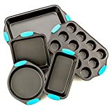 Intriom 5-Piece Bakeware Set - Premium Nonstick Baking Pans Set Deal (Small Image)