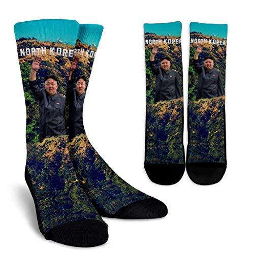 Beloved Shirts North Korea Crew Socks