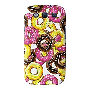 Doughnuts Full Wrap High Quality 3D Printed Case for Samsung? Galaxy S3 by Nick Greenaway + FREE Crystal Clear Screen Protector