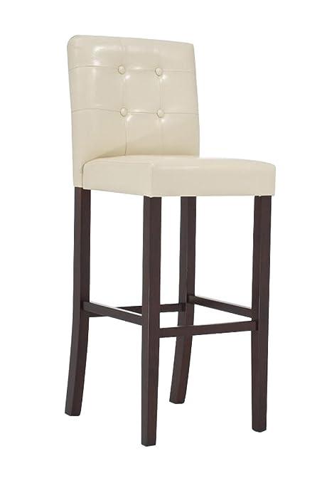 CLP Sgabello in Legno AFINA, Sgabello Design con 4 gambe in Legno ...