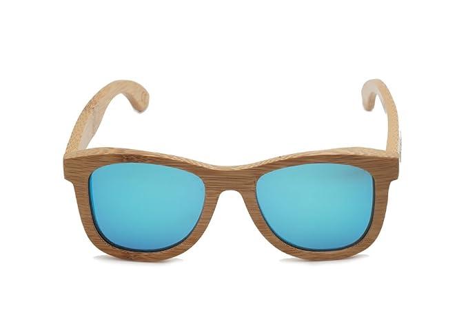 d80c778bf9 Amazon.com  East Shades 400 UV Sunglasses (Bamboo
