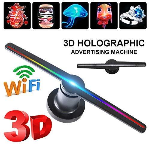 YLIK Ventilador WiFi del Holograma 3D proyector de visualización ...