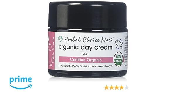 Herbal Choice Mari Natural Day Cream, Rose, 1.7 Oz Foaming Face Wash Lemongrass - 6 fl. oz. by Kosmatology (PACK OF 6)