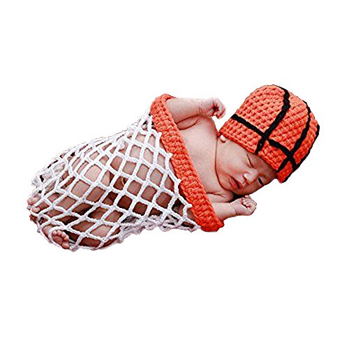 UOMNY Newborn Infant Baby Boy girl Photography Prop Costume Cute Cap Pants Baby Photo Props basketball