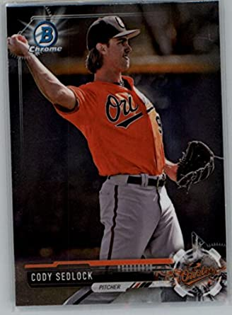 Cody Sedlock Baltimore Orioles 2017 Topps Heritage Minors