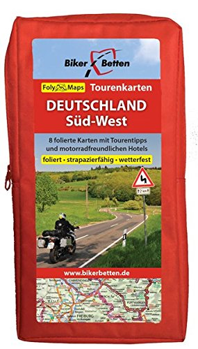 Tourenkarten Set Deutschland Süd-West (FolyMaps) Landkarte – 1. Januar 2016 TVV Touristik-Verlag GmbH 3937063196 Karten / Stadtpläne / Europa physisch