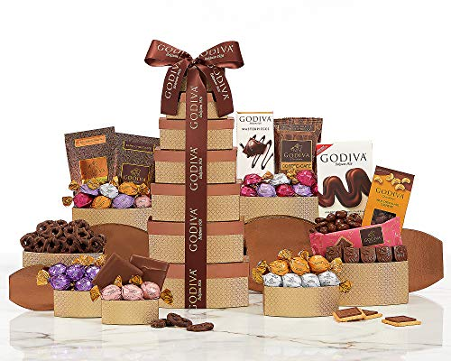 Godiva Seven Tier Indulgence Belgian Chocolate Gift Tower For The Joy Of Giving By Van's Gifts ()