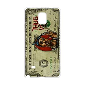 Money Pattern Cell Phone Case for Samsung Galaxy Note4