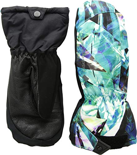 Obermeyer Kids Unisex Molten Mitten (Little Kids/Big Kids) Aqua Aura MD