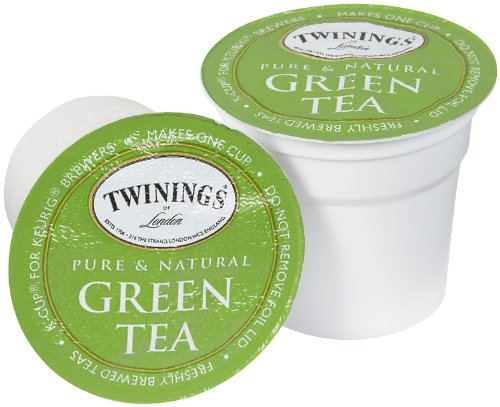 Twinings of London Green Tea K-Cups for Keurig, 24 Count (Pack of 1)