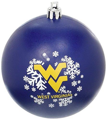 NCAA West Virginia Mountaineers Shatterproof Ball Ornament
