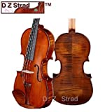 D Z Strad Violin Model 101 with Case, Bow, Shoulder Rest, and Rosin (3/4-size)