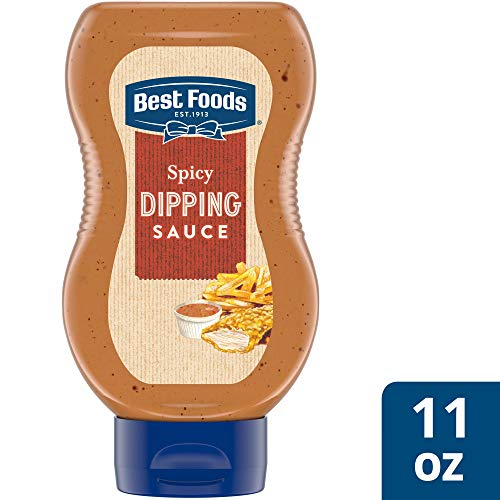 Best Foods Spicy Dipping Sauce Condiment 11 oz, pack of 6