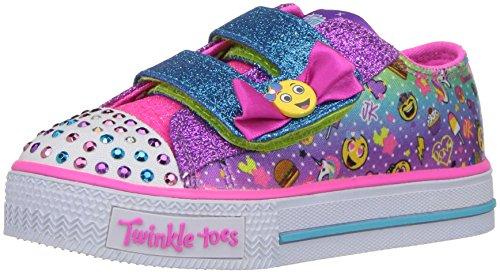 - Skechers Kids Girls' Shuffles-Giggle Days Sneaker,Multi,6 Medium US Toddler