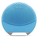 FOREO LUNA go Portable and Personalized Facial Cleansing Brush for Combination Skin