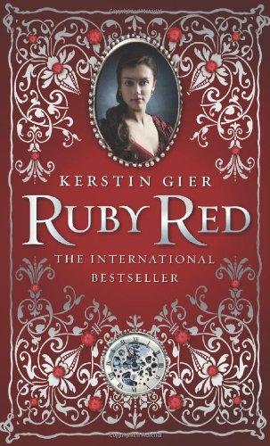 """""""Ruby Red"""" av Kerstin Gier"""