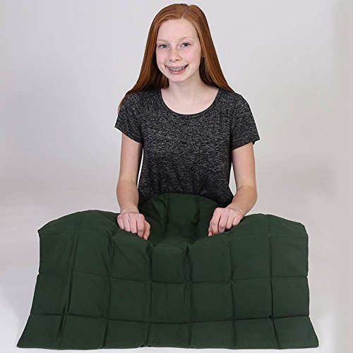 """Fun and Function Jumbo Weighted Lap Pad, Ages 5+ – Evenly Distributed Weights Yield Soothing Sensory Input, 24.5"""" Square by Fun and Function"""